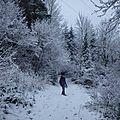 Pays de sault sous la neige