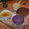 Trilogie des desserts