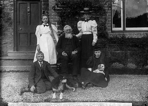 Revd William Rees Williams vicar of Gyffylliog