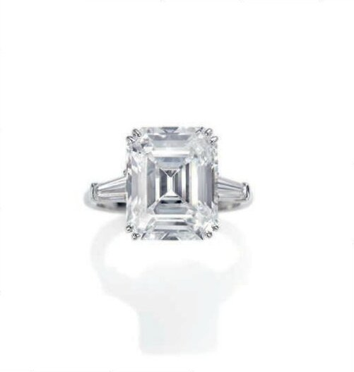 Bague diamants, par Harry Winston