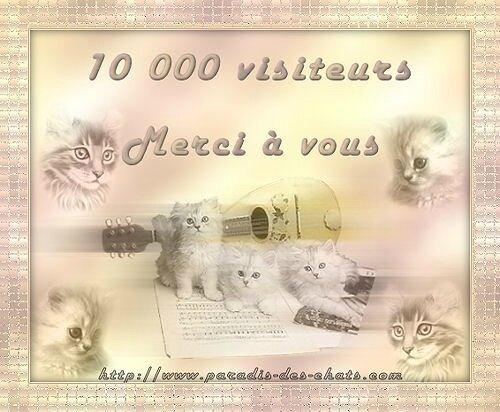 10000 VISITEURS!!!! Merci !!