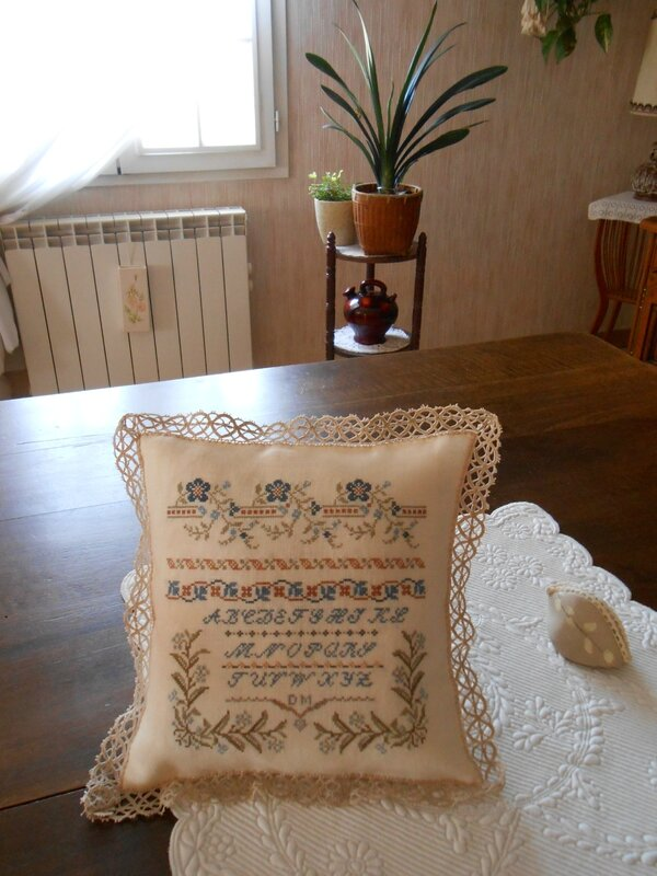 coussin Marquoir ancien