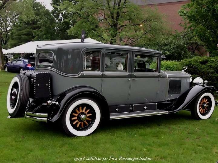 1929 - Cadillac 341 Five Passenger Sedan