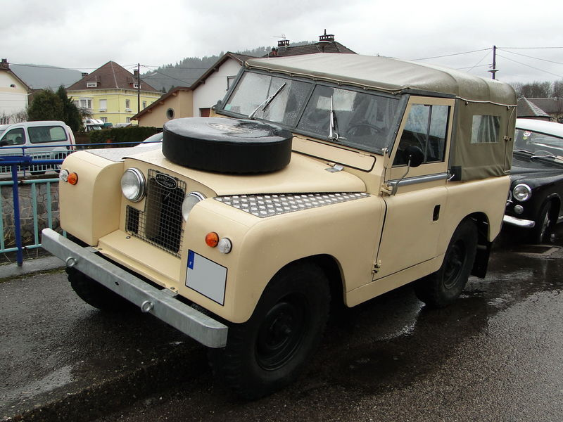 land rover type 88 s rie ii 1958 1971 oldiesfan67 mon blog auto. Black Bedroom Furniture Sets. Home Design Ideas