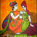 Krishna & Radha...