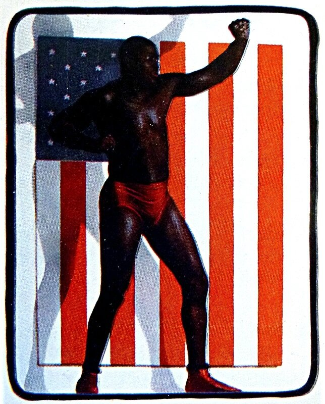 1910-Jack Johnson-champion du monde de boxe