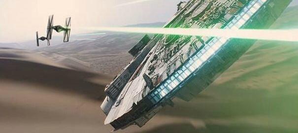 Star Wars VII (photo)