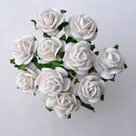 rose 1 cm blanc