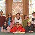 Les jeunes élus du conseil communautaire de la jeunesse vous souhaitent la bienvenue !