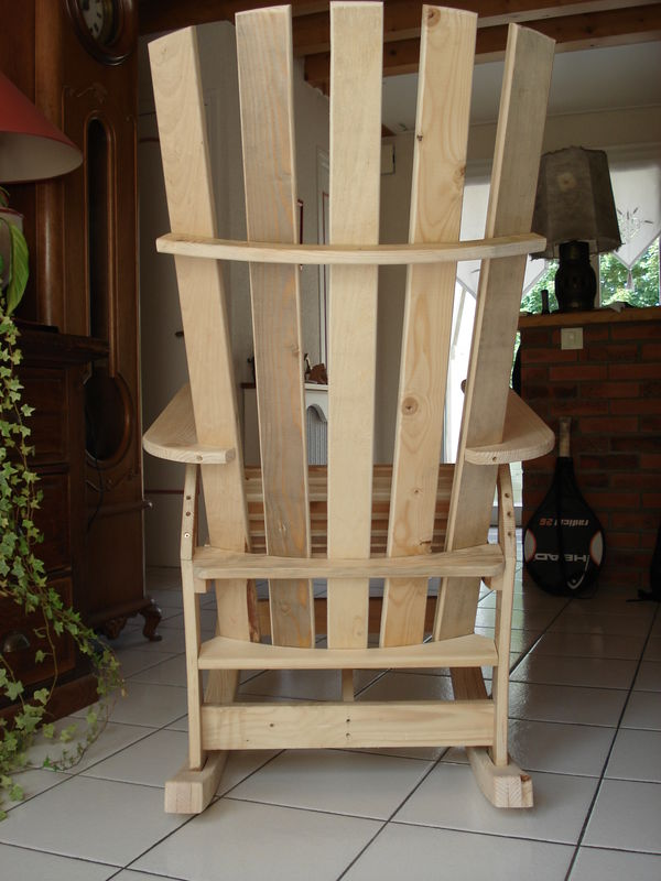√ Fabriquer Un Rocking Chair En Palette