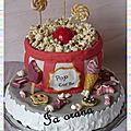 Gâteau Pop Corn