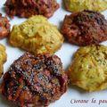 Cookies aux légumes caramélisés