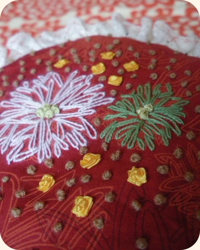 Broderie Coussin