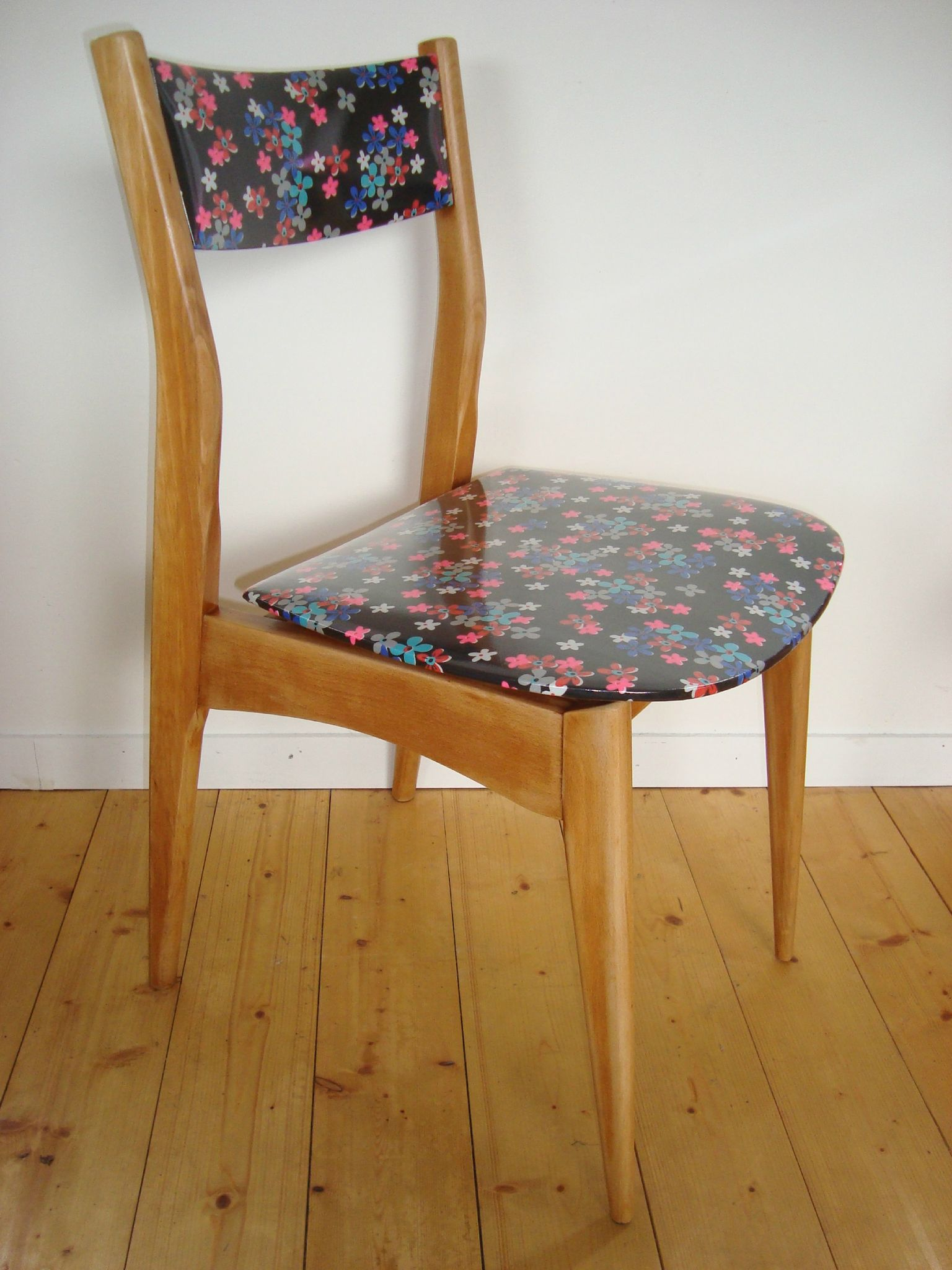 Chaise 50's style scandinave PETIT PAN