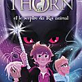 Simon thorn et le sceptre du roi animal [simon thorn #1] de aimée carter