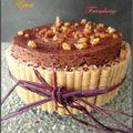 entremet chocolat épicé et gelée de framboise2