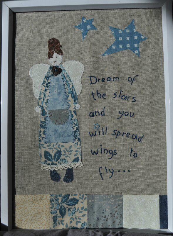 appliqué dream of the stars