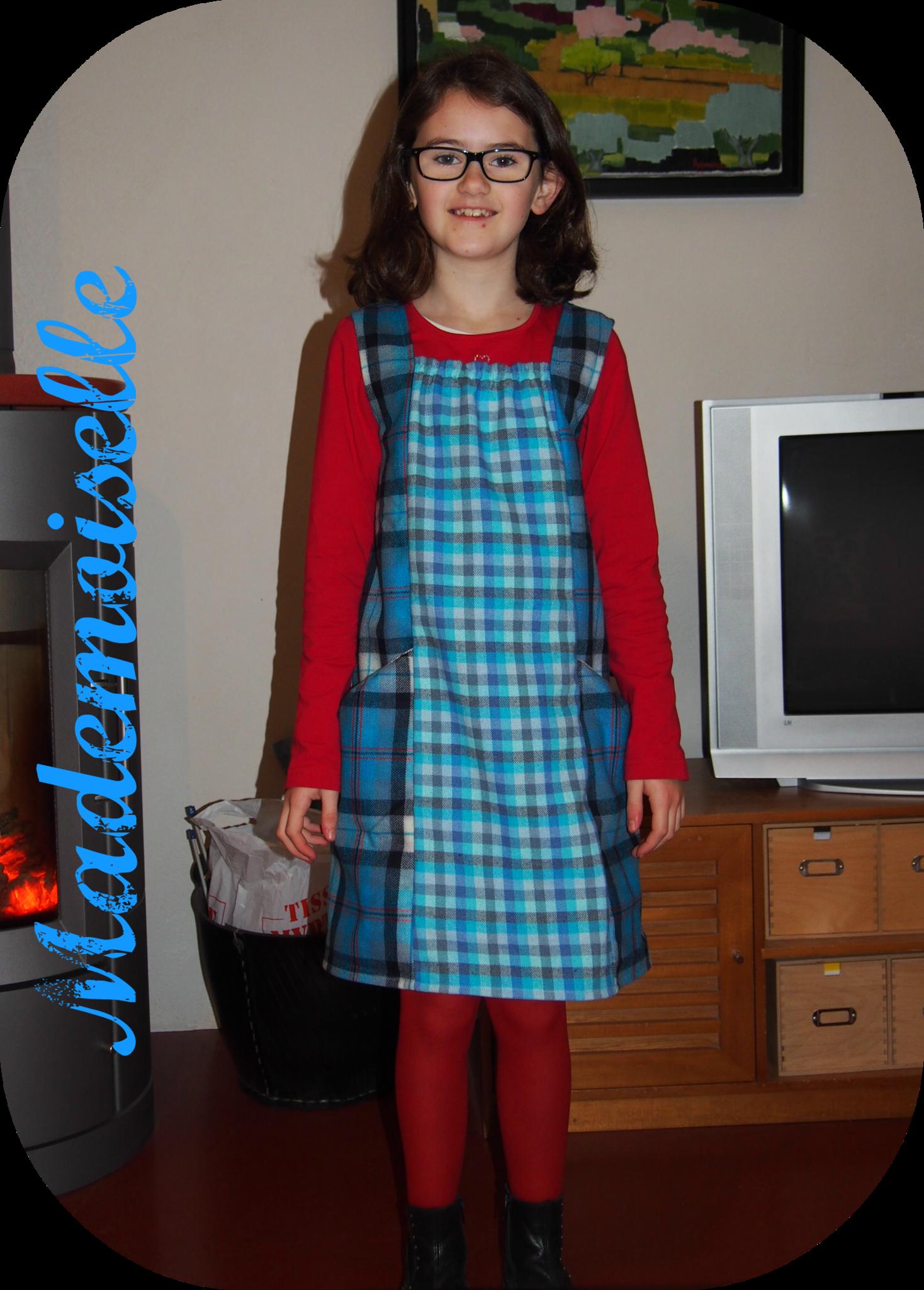 robe mademoiselle bleue