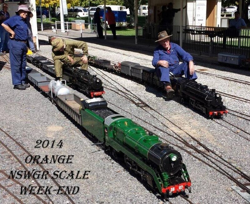 0110 Australie Orange NSW Miniature Railway Matthews Park 2014 B-P