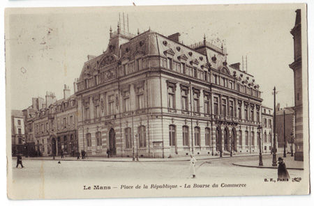 72 - LE MANS - Place de la République - Bourse du Commerce