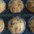 Muffins cranberries chocolat