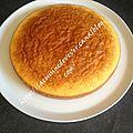 Gâteau au yaourt allégé, sans beurre ni huile