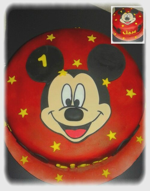 Photos gateau mickey