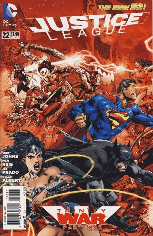 new 52 justice league 22 second print