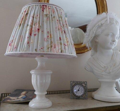 abat jour fronc anglais perle de lumi res cr ation d 39 abat jour et d coration shabby chic. Black Bedroom Furniture Sets. Home Design Ideas