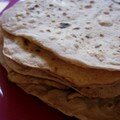 Chapati en tapes ou comment mettre  profit une insomnie