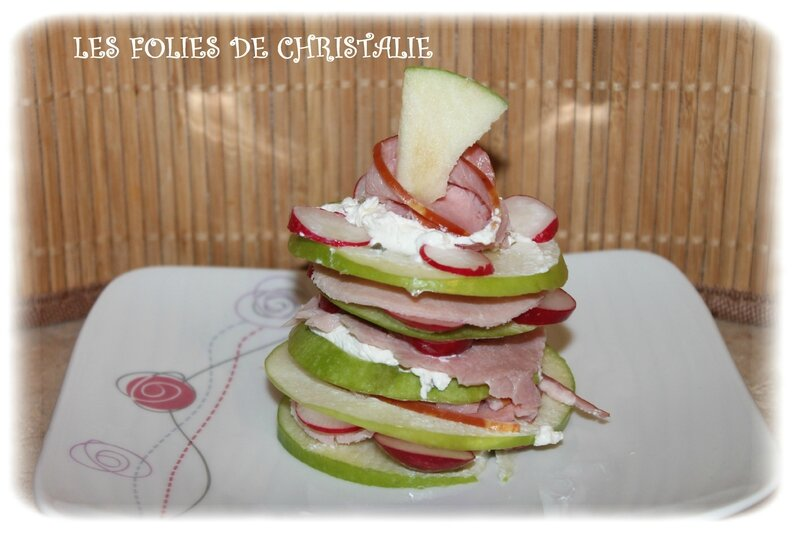 Millefeuilles bacon 3