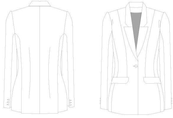 DP Studio - 100-veste-tailleur-un-bouton