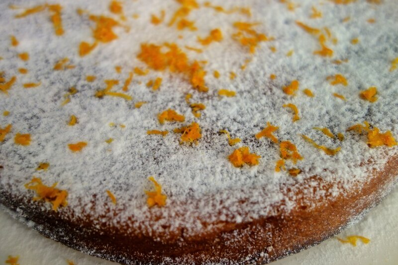 gâteau ricotta/orange