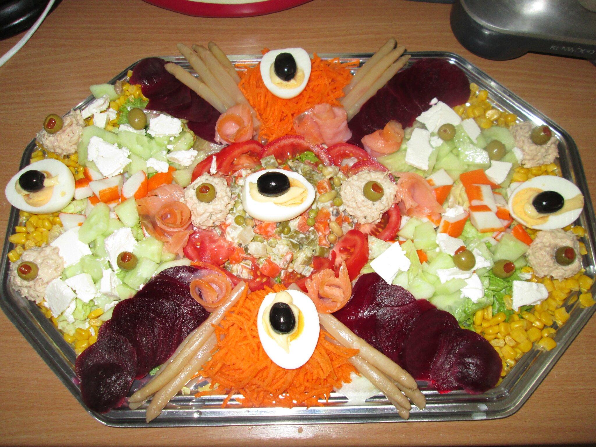 Salades En Pagaille Les Delices De Oumsafiya