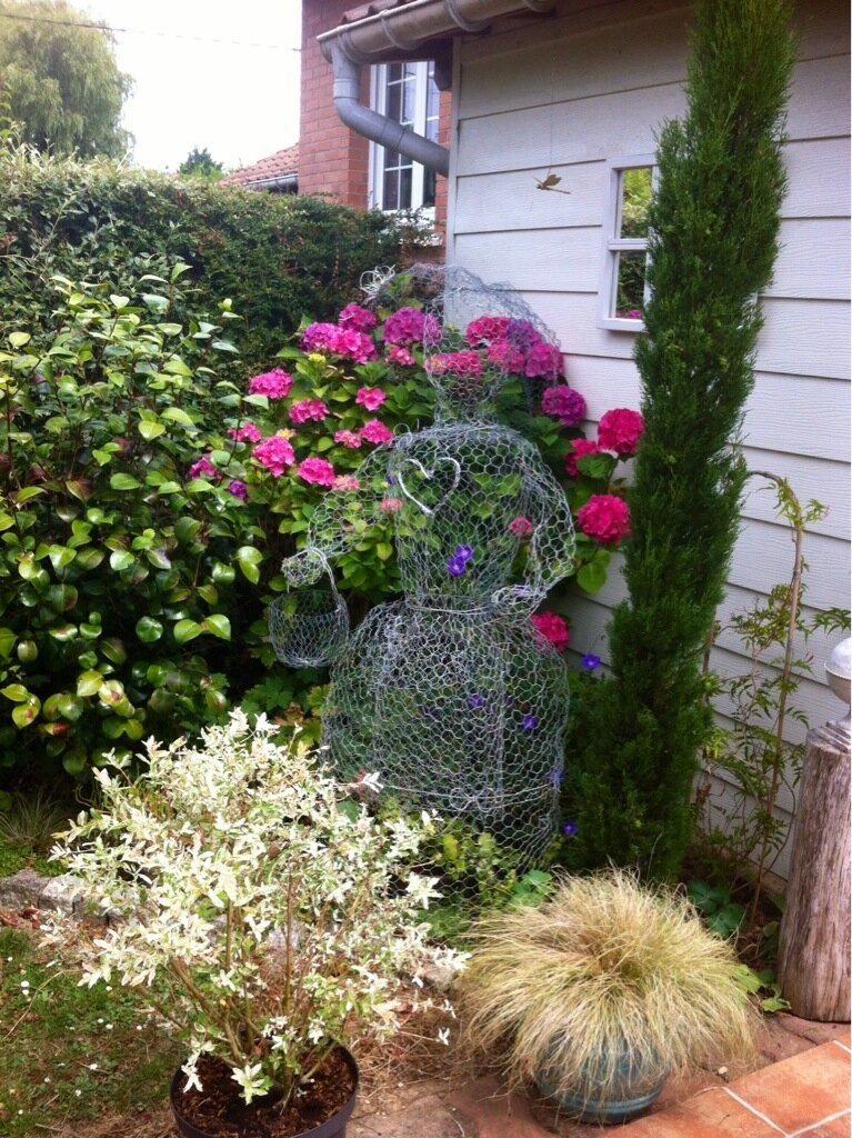 Post en mode jardin