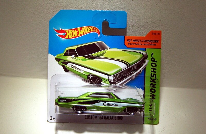 Ford galaxie 500 custom de 1964 (Hotwheels 2014)
