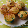 Muffins aux M&M's et au fromage blanc