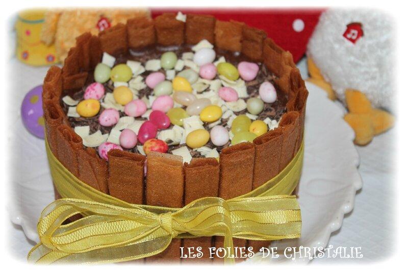Gâteau Pâques 1
