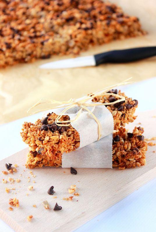 Barres musli & pépites de chocolat1