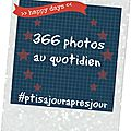 366 photos au quotidien : 288 - 294