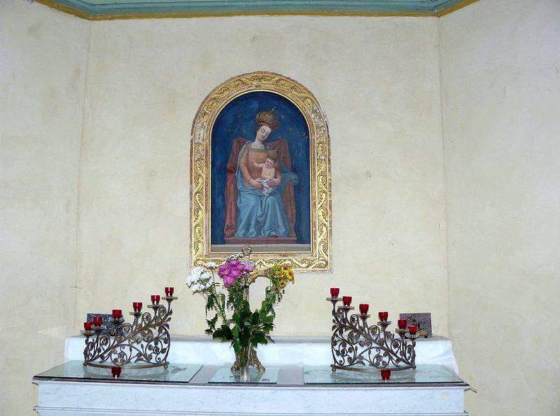 Chapelle des Miracles de Buglose, intérieur