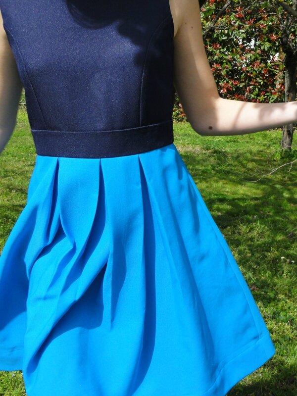robe à pli devant