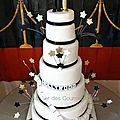 wedding cake Nîmes Hollywood