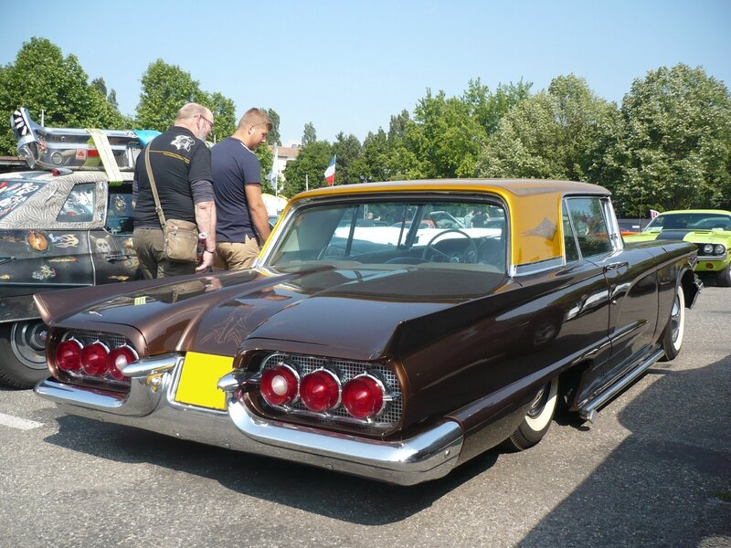 FORD Thunderbird 2door hardtop coupé 1960 Illzach (2)
