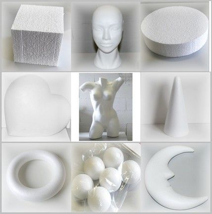 supports en polystyrene mosa 207 ques objets creation
