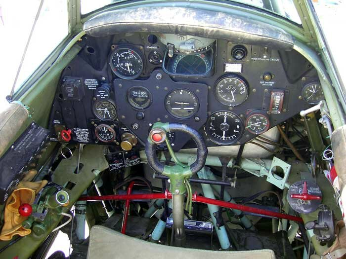 Swordfish-cockpit