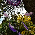 attrape_reve_mandala_crochet_perle_violet_La_chouette_bricole