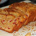 Cake salé tomate-surimi