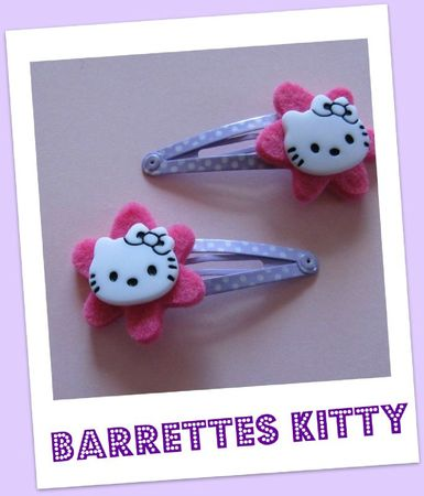 barrettes kitty
