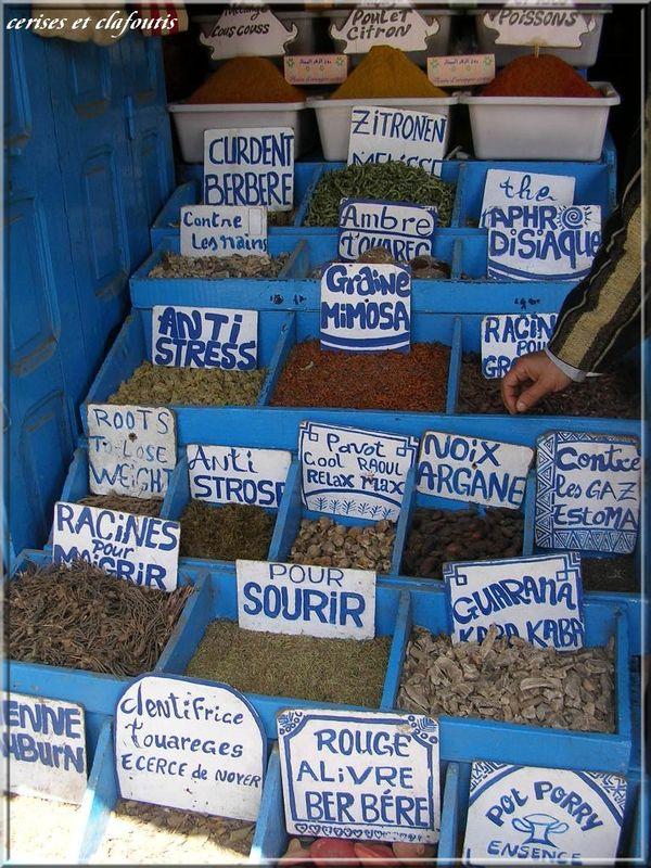 un herboriste a Essaouira